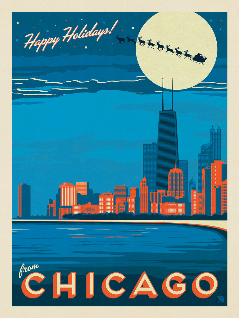 A Chicago Christmas (by Mike Baker)