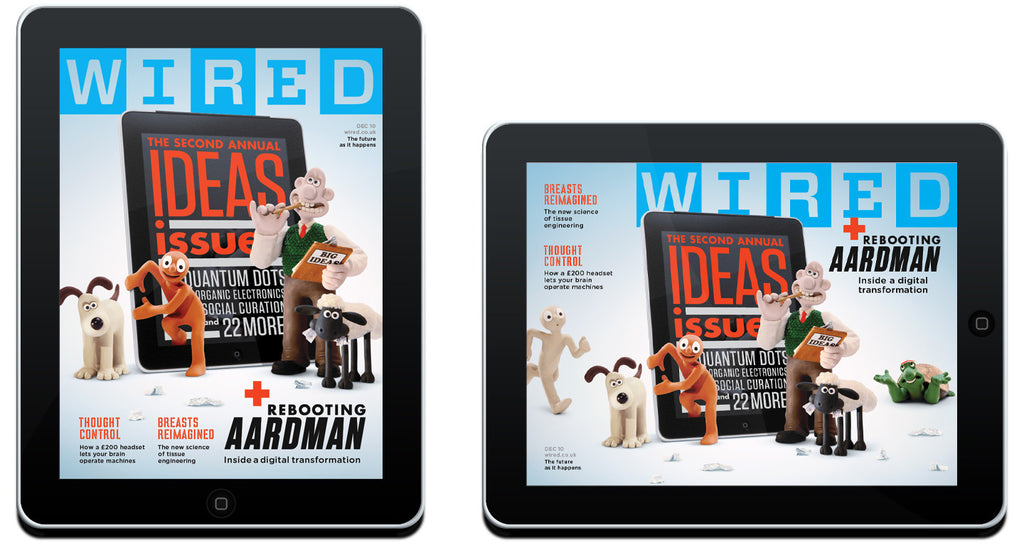 Wired Magazine on iPad