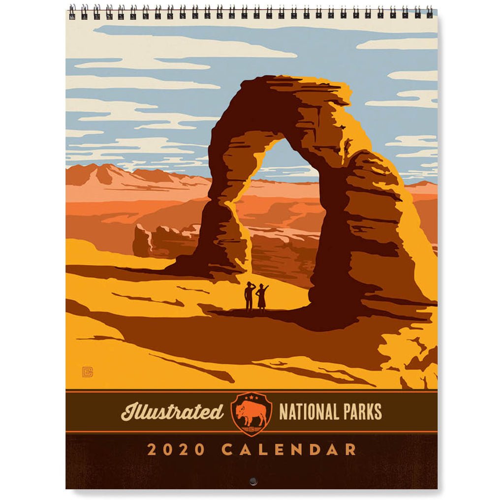 Keep Track Of The New Year With Vintage Art 2020 Wall Calendars