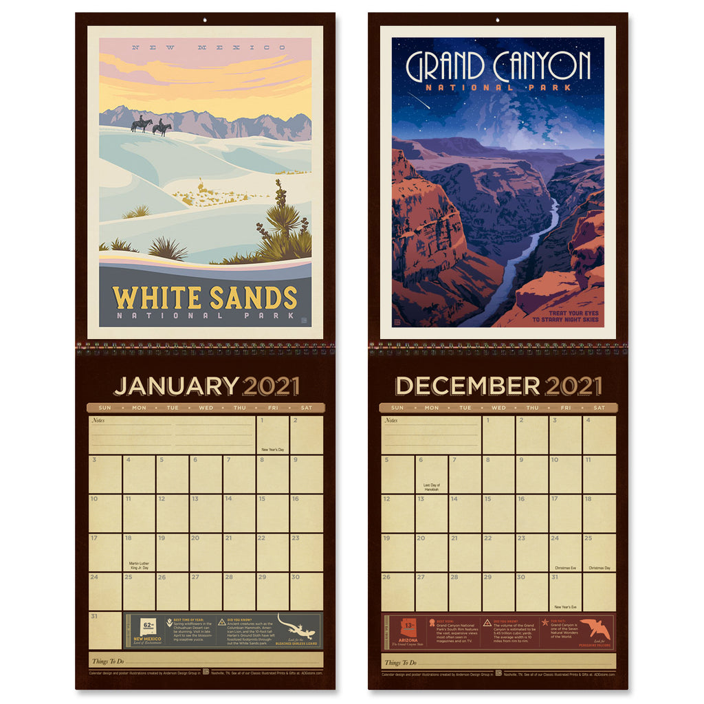 Get A Jump On Next Year With New 2021 Wall Calendars