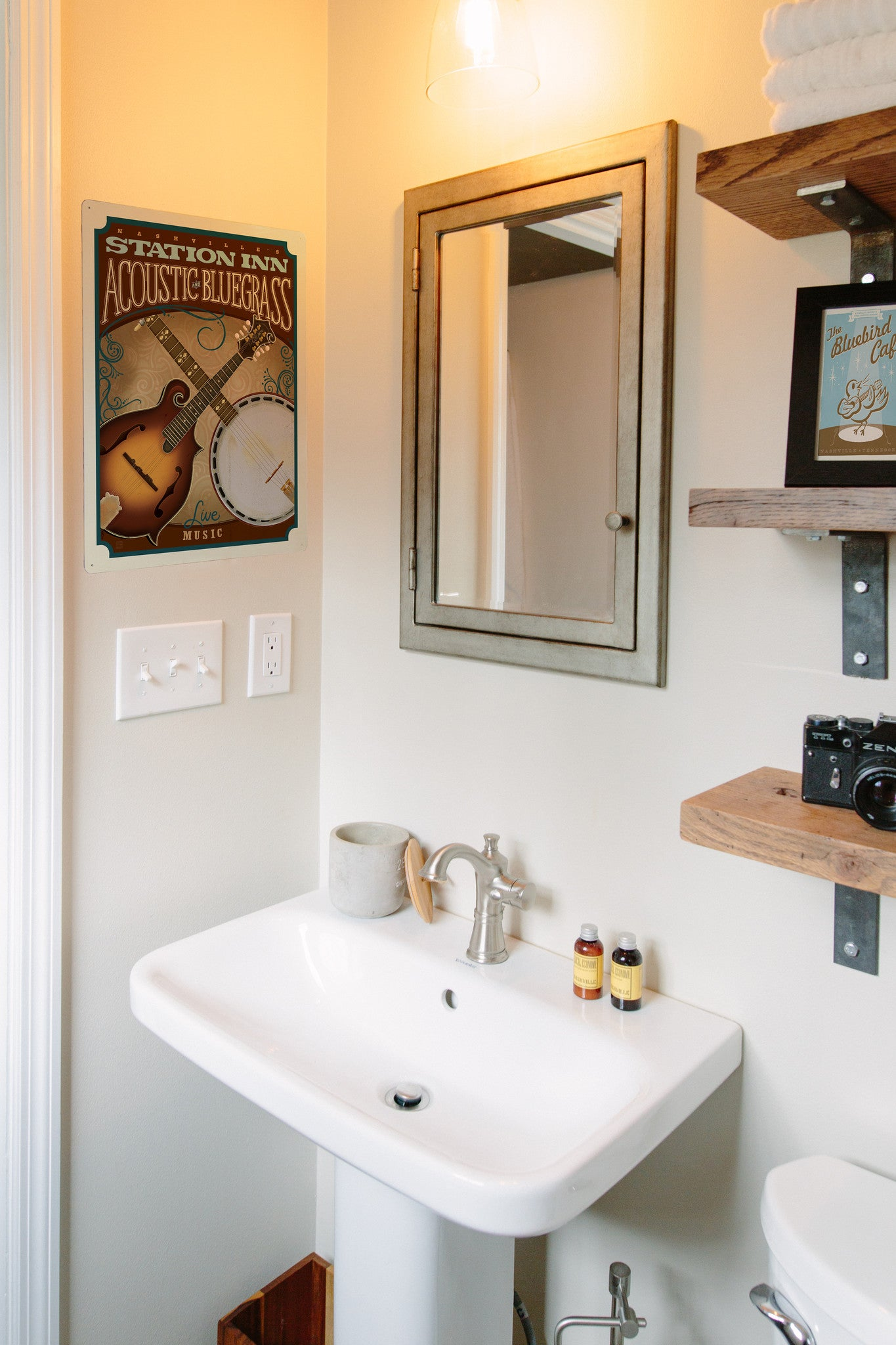 For Bathroom Spaces, Our Friends Alyssa And Ray At Brasstacksandco  Photographed A Newly Renovated Small Bathroom And A More Vintage Large  Bathroom Found In ...