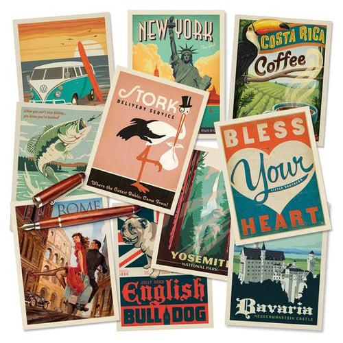featured Postcards