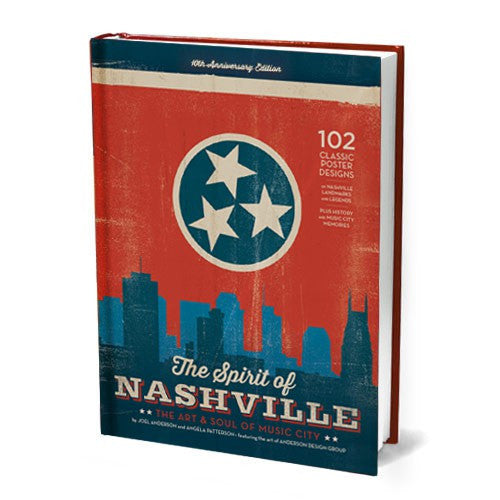 128-Page Spirit of Nashville Coffee Table Book