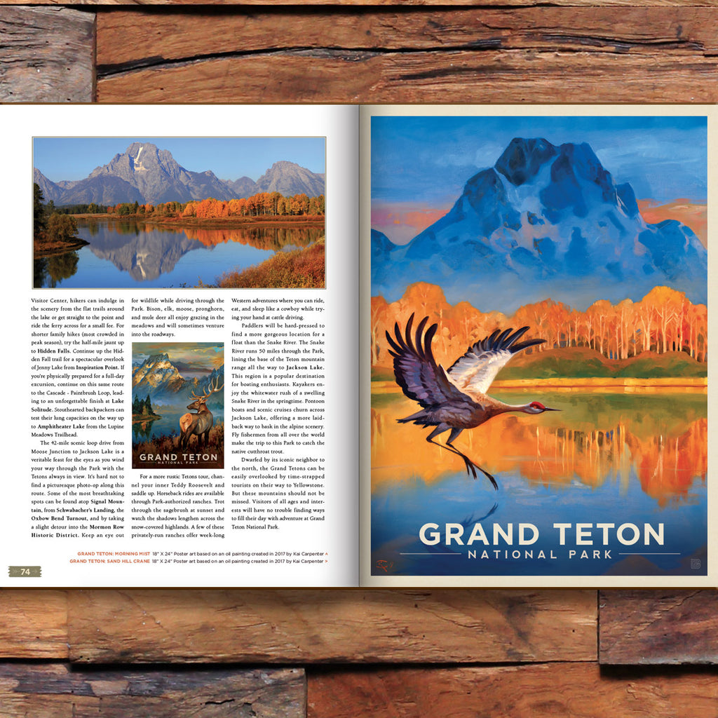 59 National Parks: Expanded Edition 172-page Soft Cover Book