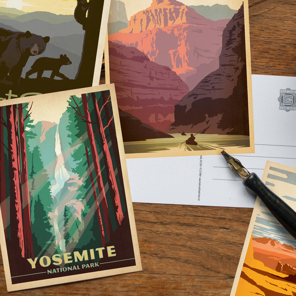 POSTCARDS: National Parks 62-piece Set