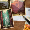 National Parks: 61-piece Postcard Set