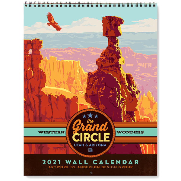 2021 Wall Calendar: Grand Circle Parks (Utah & Arizona)