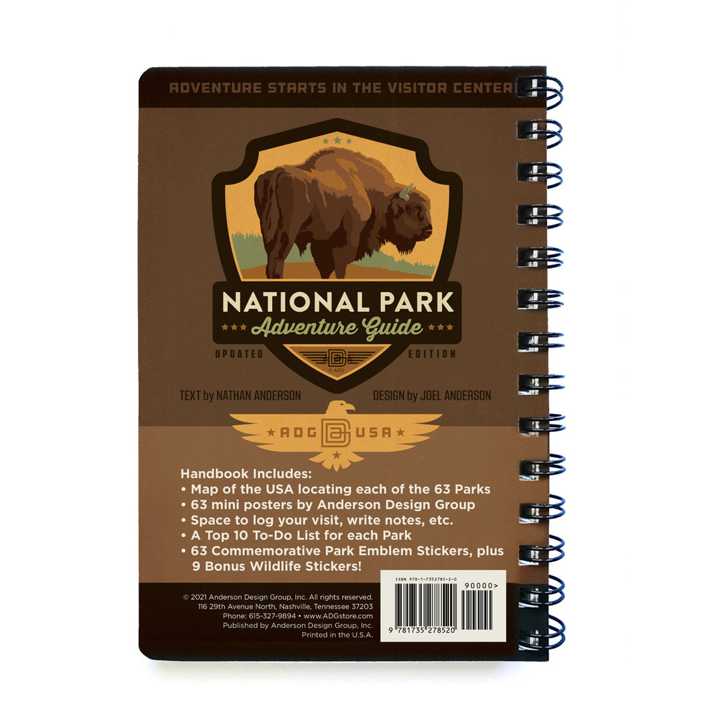 National Park Adventure Guide Book (NEW 63-Park Edition!)