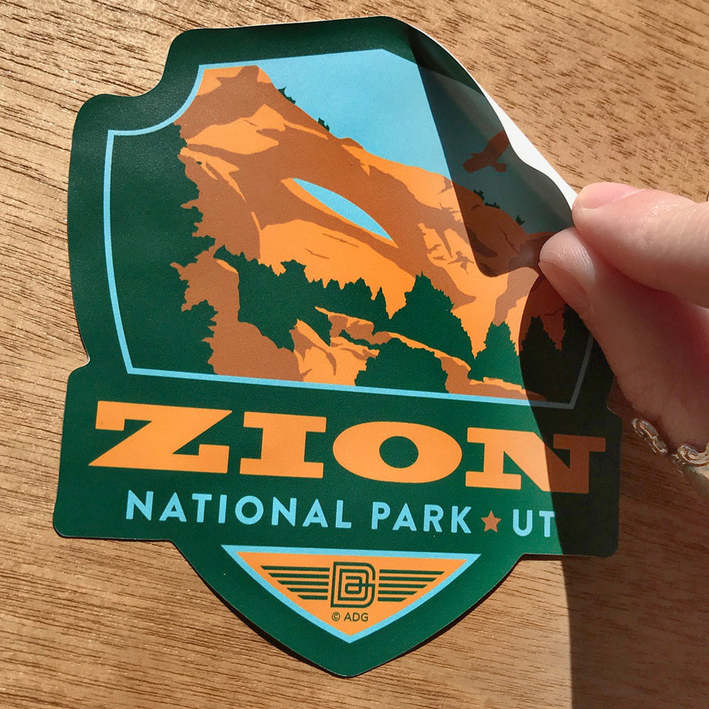 BIG EMBLEM: 61-Piece National Parks Sticker Set