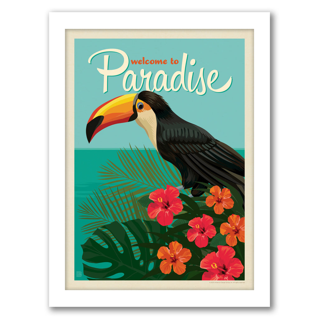 Tropical Paradise Gallery Wall Set