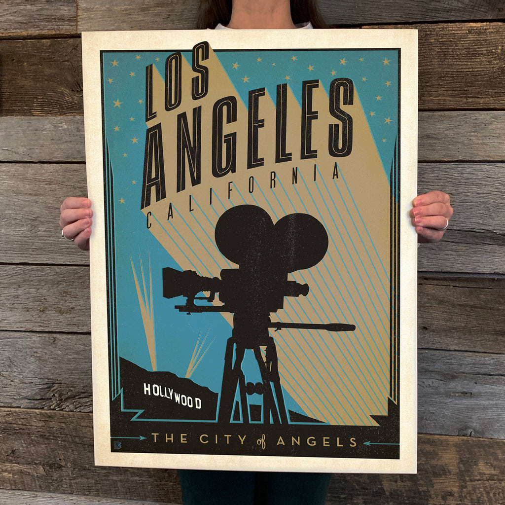 Bargain Bin Print: Los Angeles-Print Shop (60% OFF!)