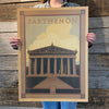 Bargain Bin Print: Spirit of Nashville-Parthenon (60% OFF!)
