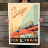 Bargain Bin Print: Chicago-L Train (60% OFF!)