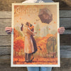 Bargain Bin Print: Windy City Kiss by Kai Carpenter (60% OFF!)