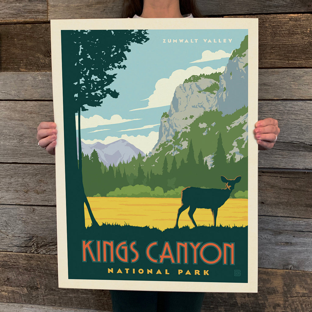 Bargain Bin Print: Kings Canyon National Park (60% OFF!)