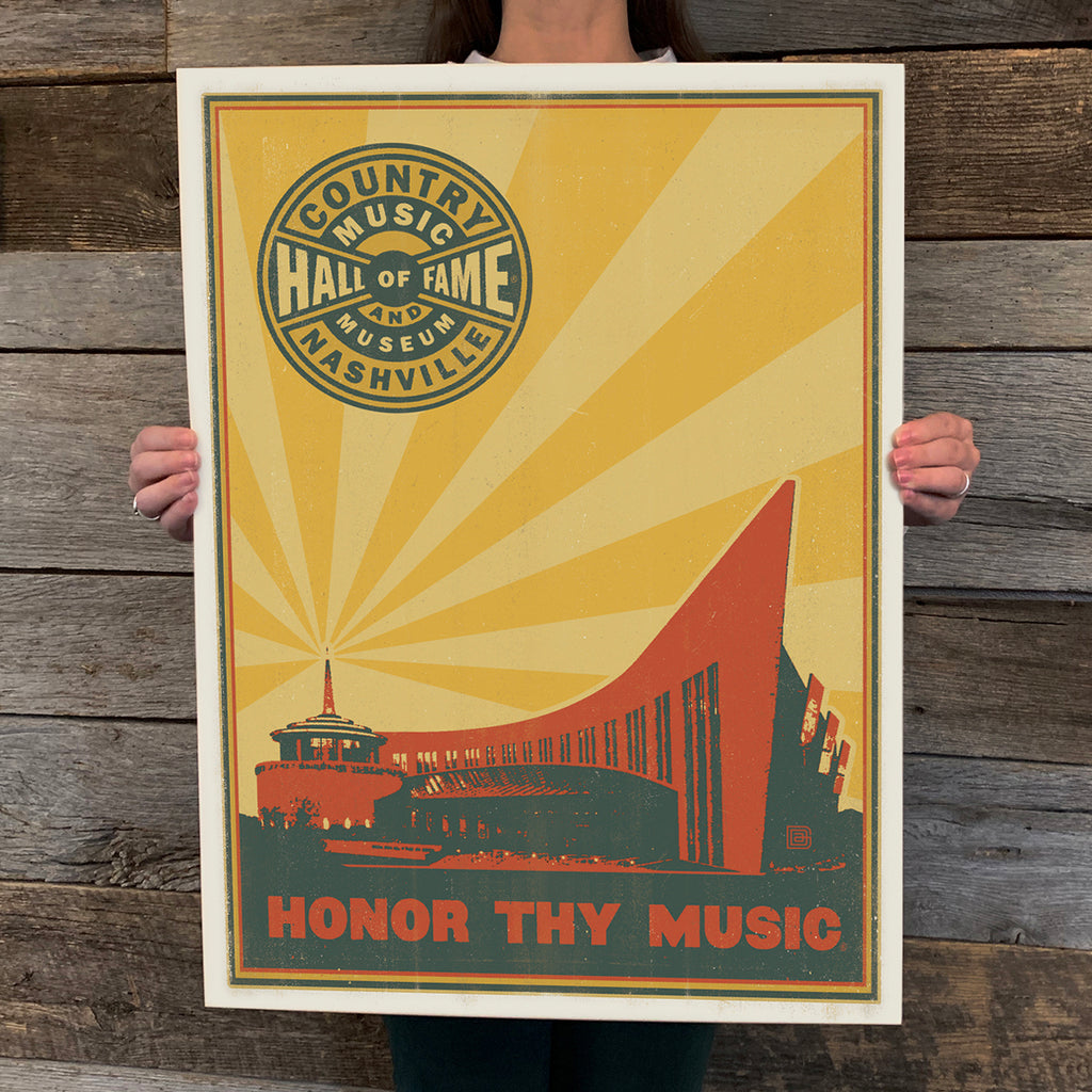 Bargain Bin Print: Spirit of Nashville-Country Music Hall Of Fame (Blow-Out: 70% OFF!)