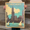 Bargain Bin Print: USA-Chicago, The Windy City (60% OFF!)