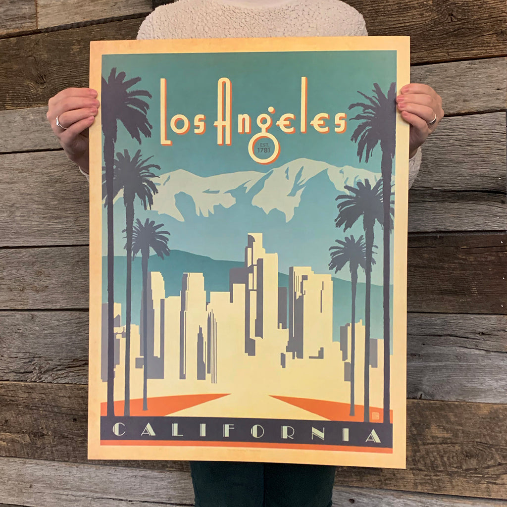 Bargain Bin Print: USA-Los Angeles (60% OFF!)