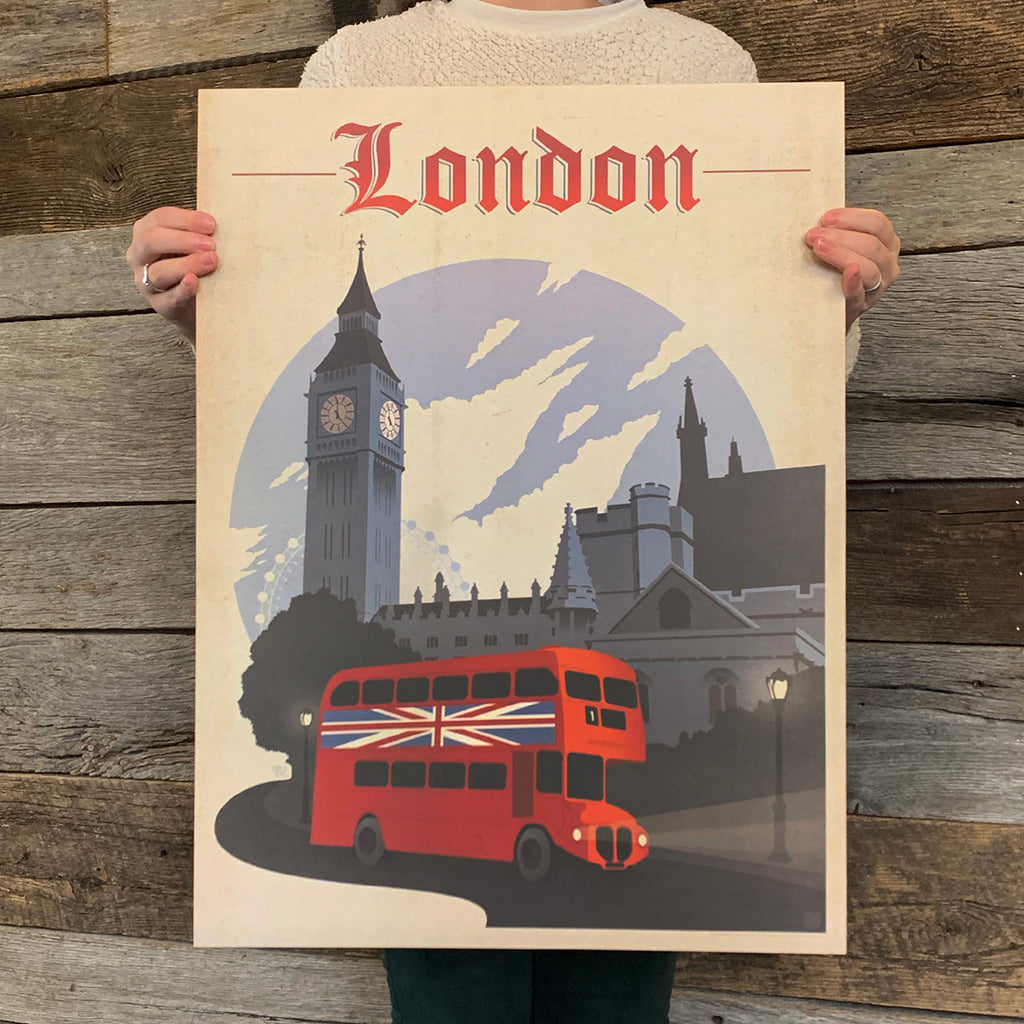 Bargain Bin Print: London, England (60% OFF!)