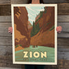 Bargain Bin Print: Zion National Park-Narrows (60% OFF!)