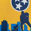 Bargain Bin Print: Spirit of Nashville-Hockey, State Flag (60% OFF!)