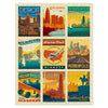 500-Pc. Puzzle: American Travel: Mid-West
