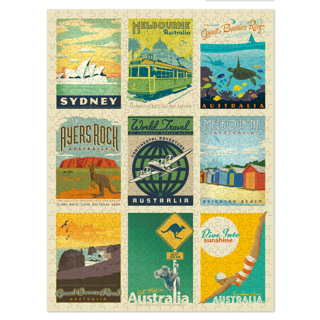 500-Pc. Puzzle: World Travel: Australia