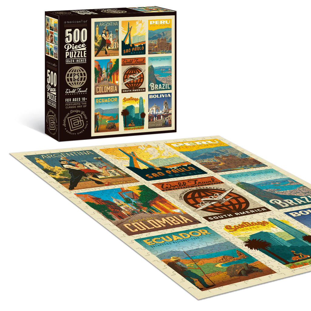 500-Pc. Puzzle: World Travel: South America