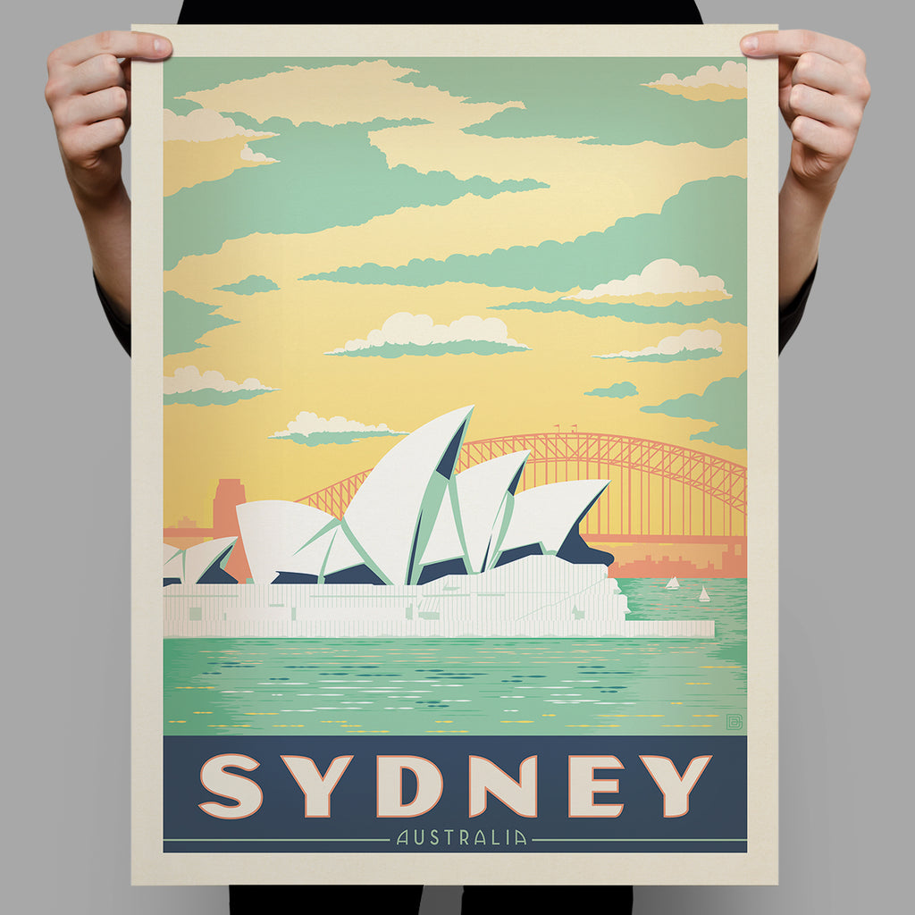 World Travel: Australia, Sydney Harbor (Best Seller)