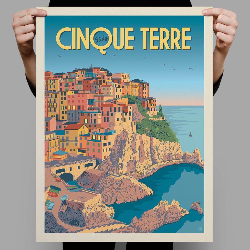 World Travel: Italy, Cinque Terre (Best Seller)