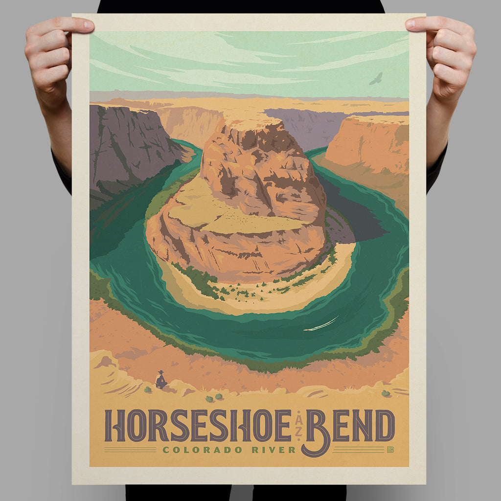National Monuments: Horseshoe Bend (Best Seller)