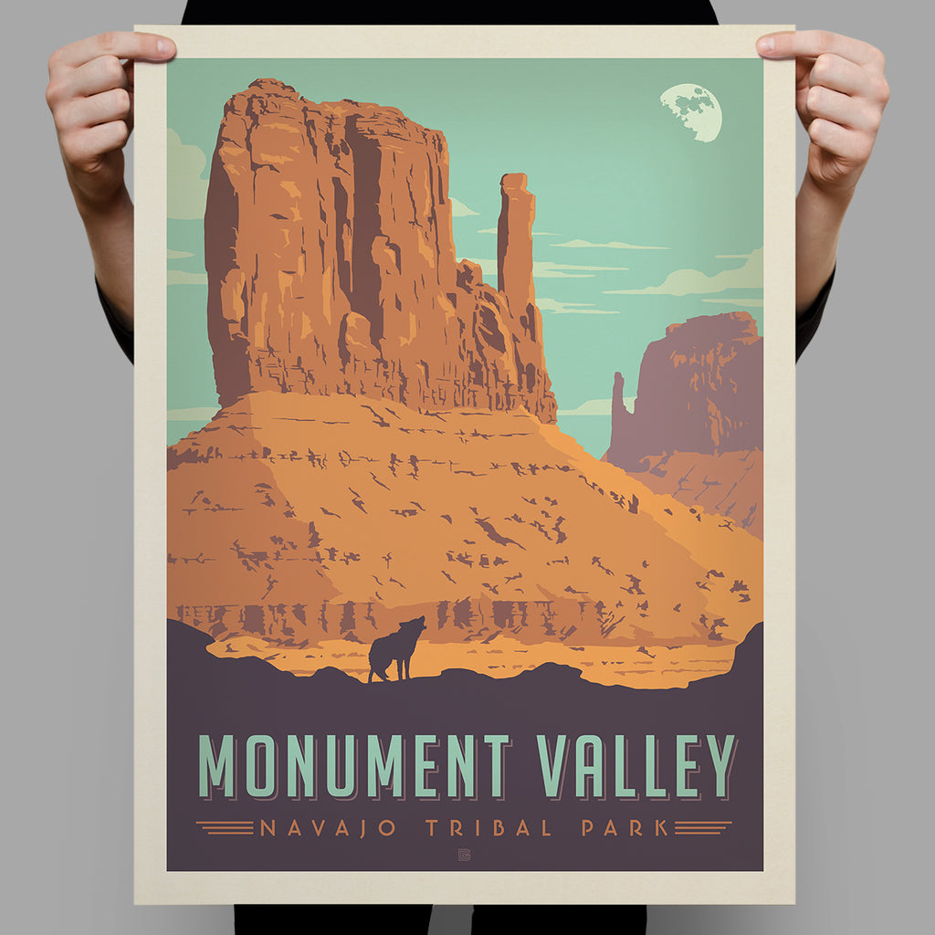 National Monuments: Monument Valley Tribal Park (Best Seller)