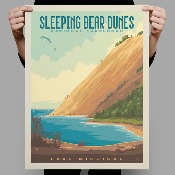 National Monuments: Sleeping Bear Dunes, MI (Best Seller)