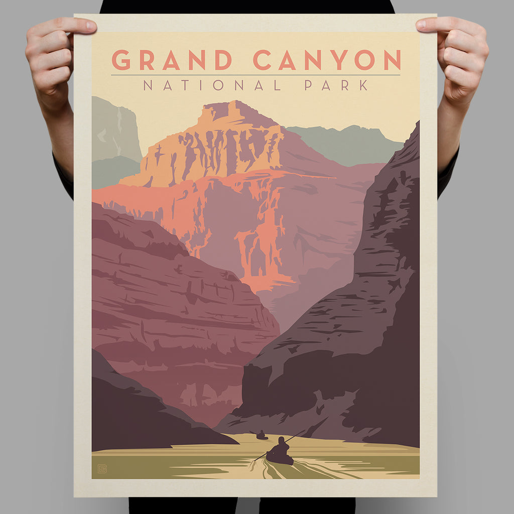 National Parks: Grand Canyon-Kayak (Best Seller)