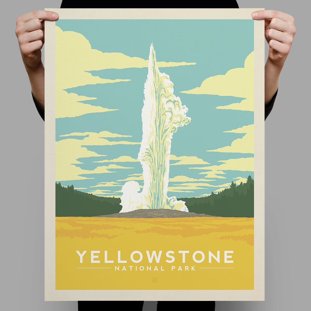 National Parks: Yellowstone-Old Faithful (Best Seller)