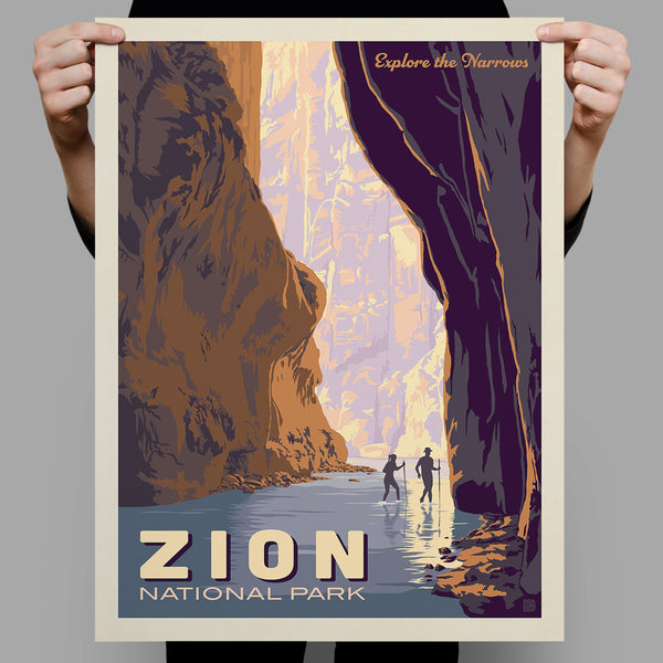 National Parks: Zion-Explore The Narrows (Best Seller)