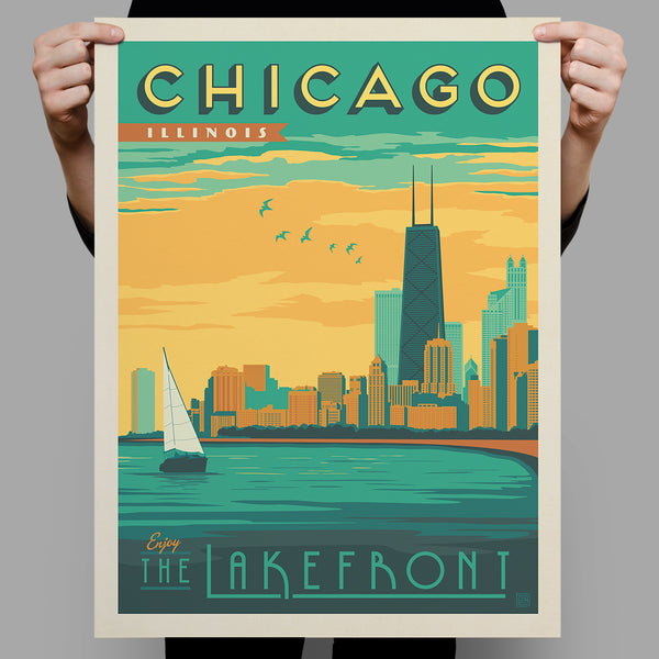 American Travel: Chicago Lakefront (Best Seller)