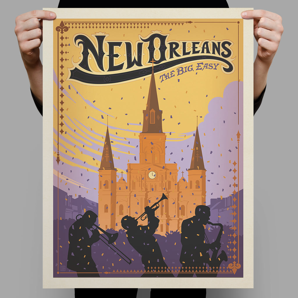 American Travel: New Orleans-The Big Easy (Best Seller)