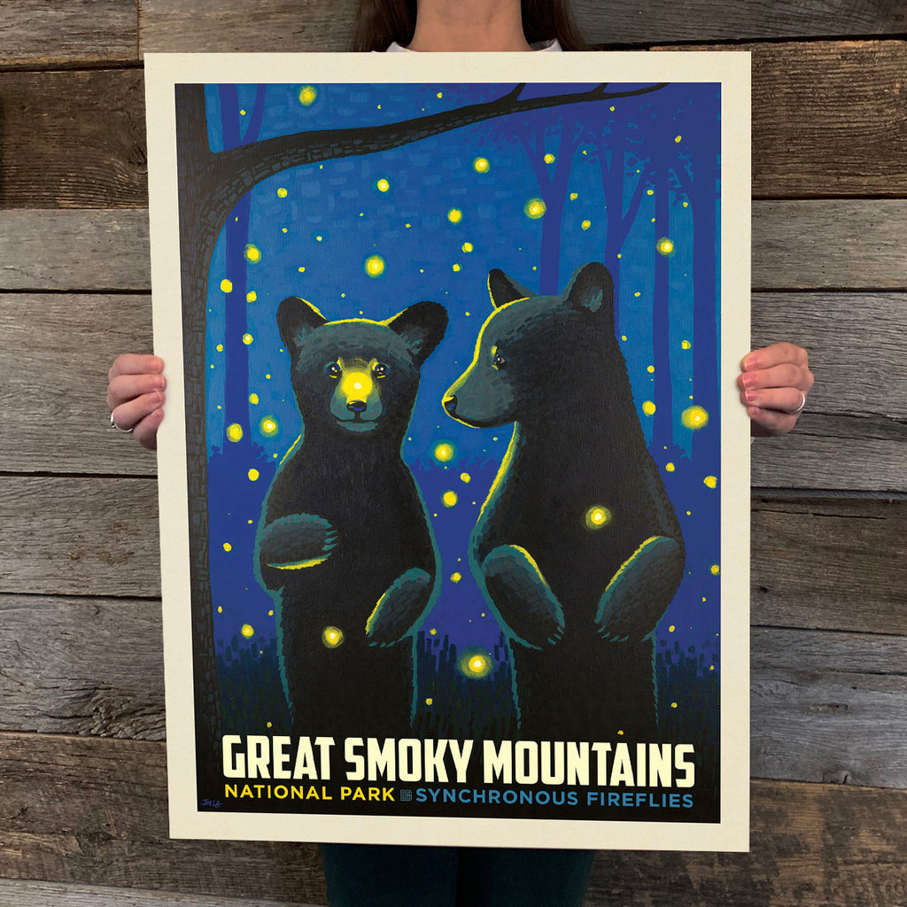 National Parks: Great Smoky Mountains Firefly Cubs (Best Seller)