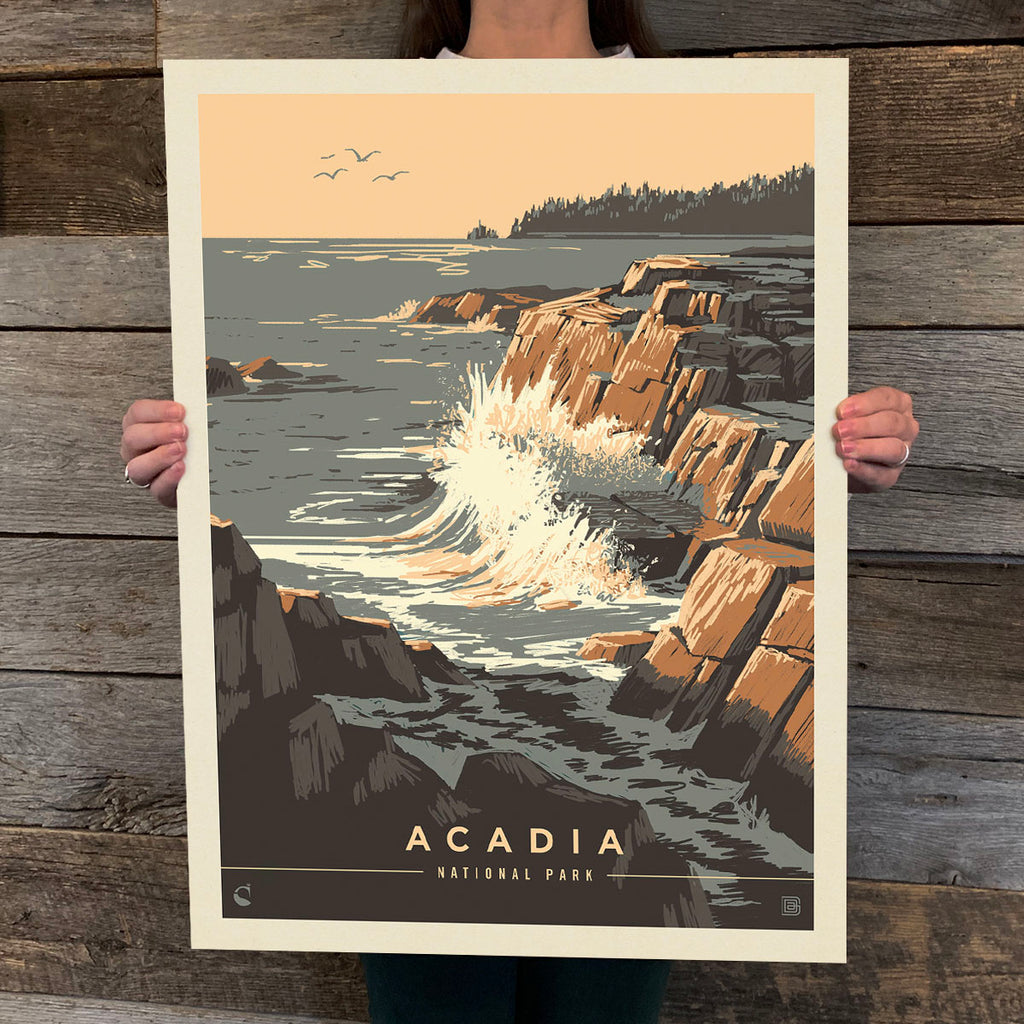 National Parks: Acadia-Secrets Of The Sea (Best Seller)
