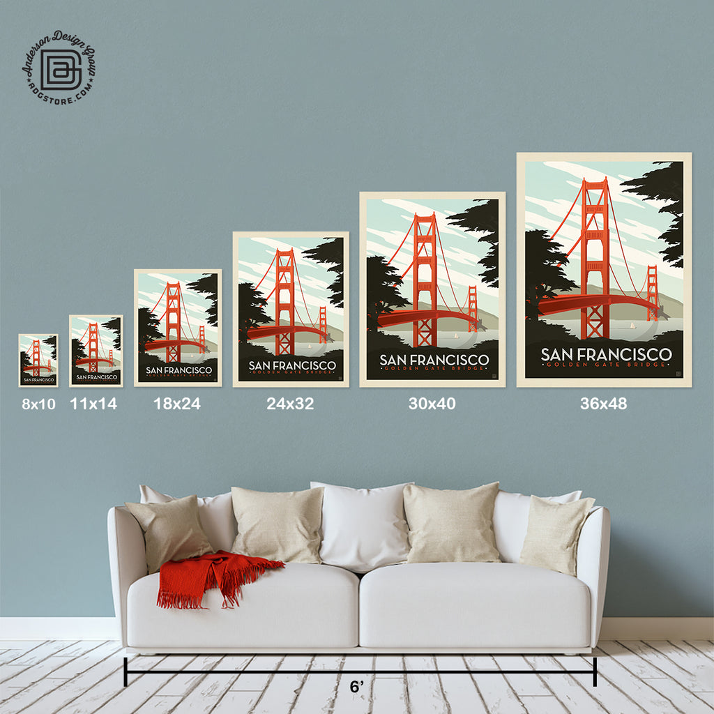 American Travel: San Francisco-Golden Gate Bridge (Best Seller)