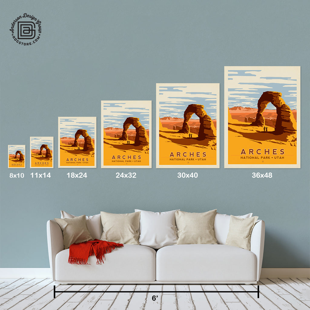 National Parks: Arches-Delicate Arch (Best Seller)