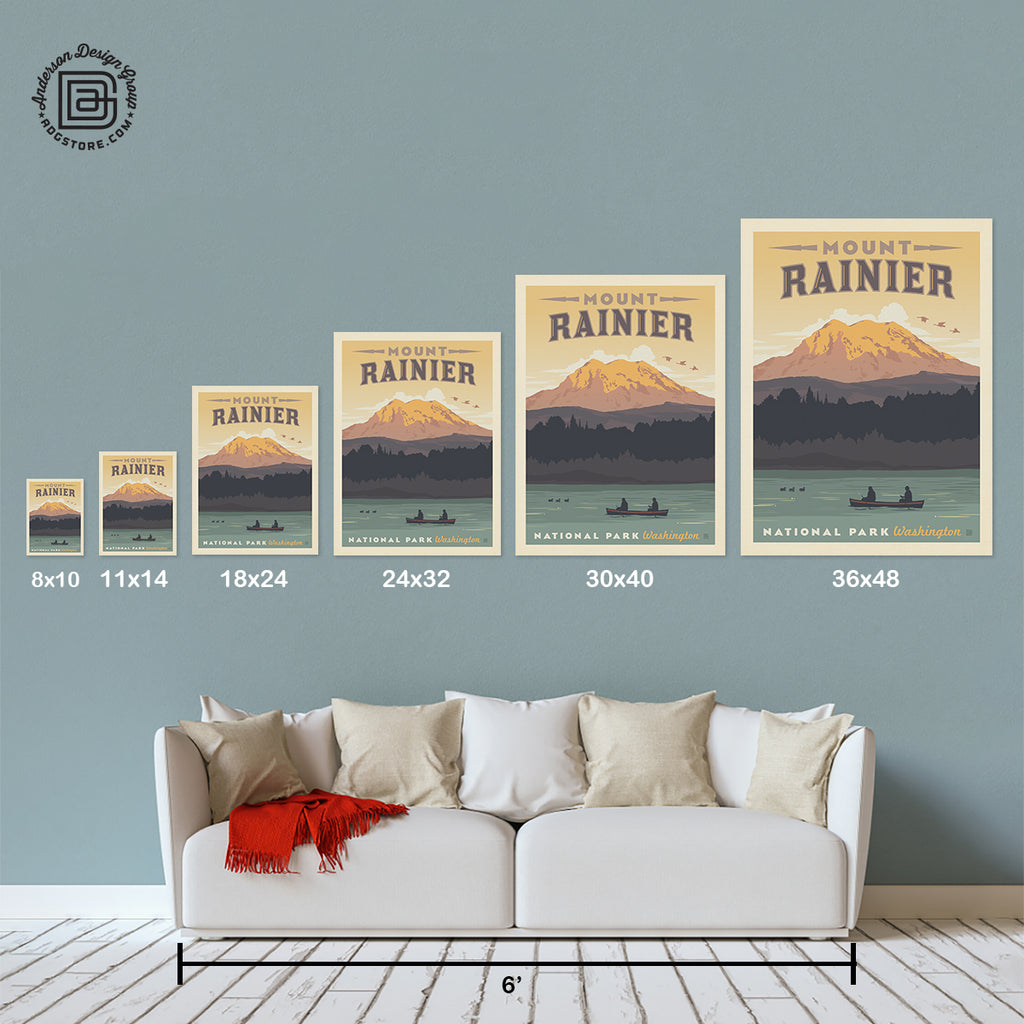 National Parks: Mount Rainier (Best Seller)