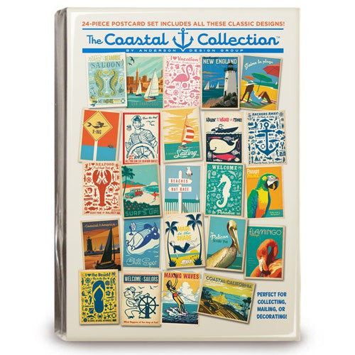 CC 24-piece Postcard Set