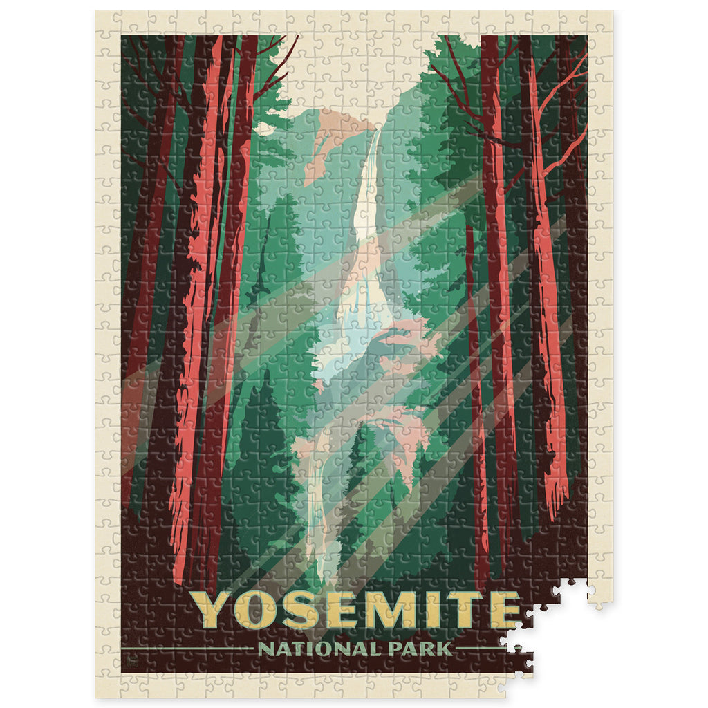 500-Pc. Puzzle: Yosemite National Park