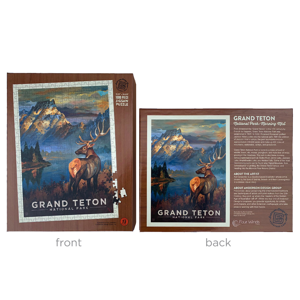 1000-Pc. Puzzle: Grand Teton National Park (Bargain—10% OFF!)