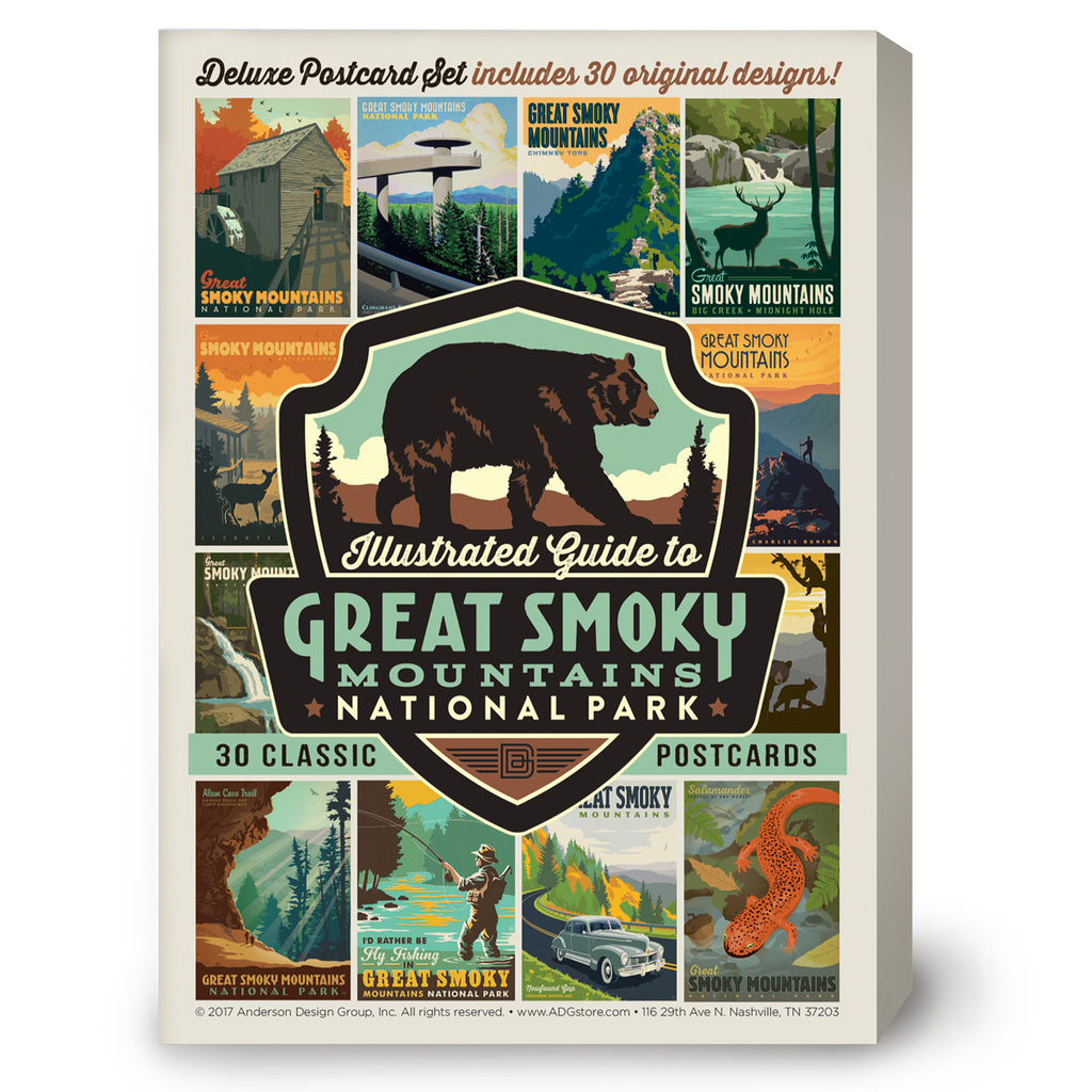 Great Smoky Mountains National Park 30-Piece Postcard Set