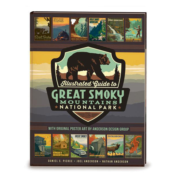 Illustrated Guide to Great Smoky Mountains National Park: Soft Cover Coffee Table Book