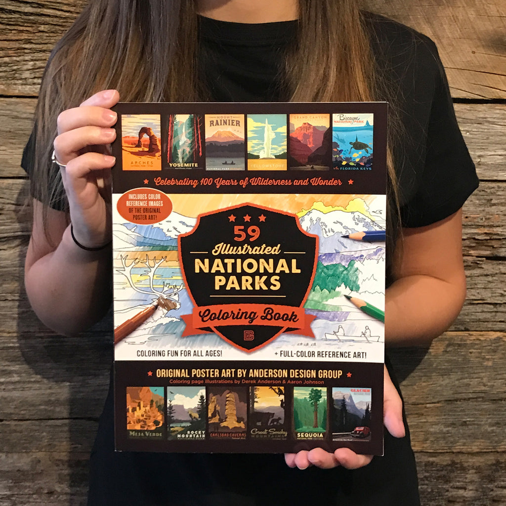 Great Smoky Mountains National Park: COLORING BOOK