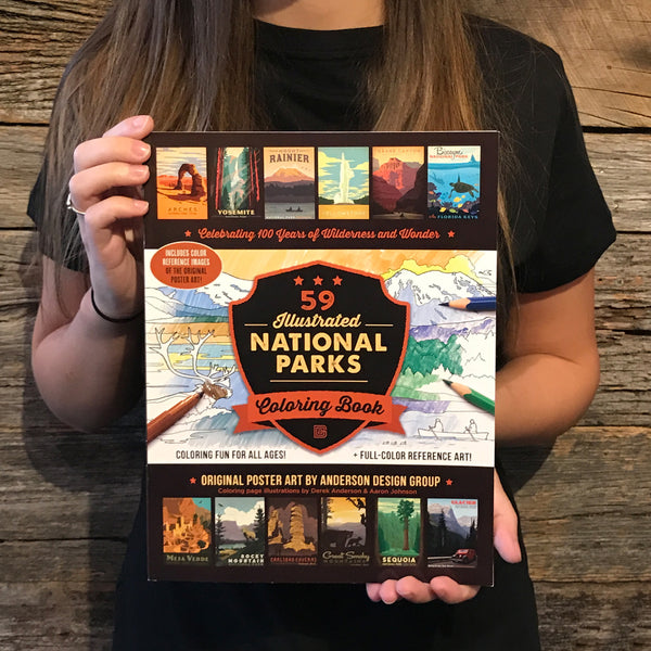 Great Smoky Mountains National Park Coloring Book